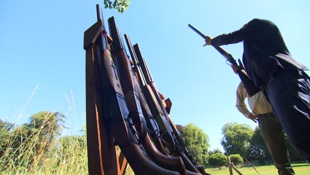 Ils préparent l'examen pratique de chasse à Verlaine