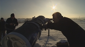 Eclipse : observation à Nandrin