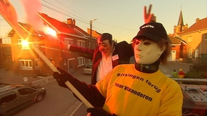 Carnaval politique à Bassenge