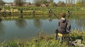 Braives : un stage de pêche en pleine nature