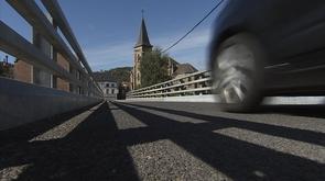 Trooz : le pont provisoire devient définitif