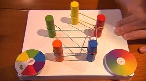 Un jeu de société avec des élastiques, une trouvaille liégeoise