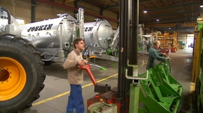 L'entreprise Joskin à Soumagne décroche la Marianne de Cristal
