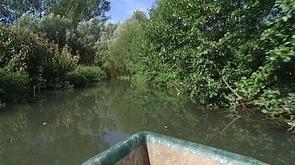 Moxhe : balade en barque