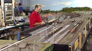 Seraing : maquette ferroviaire de Renory