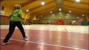 Handball en famille