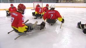 Présentation du sledge hockey