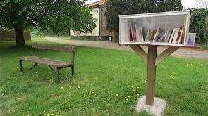 Clavier : une bibliothèque éphémère par village