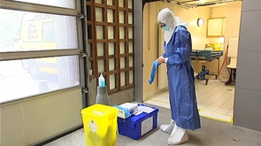 CHU : préparé à recevoir des patients atteints de la fièvre Ebola