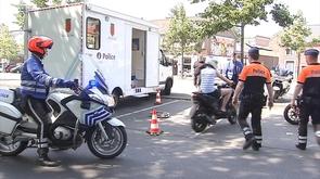 Cyclomoteurs: contrôles de la police de Liège durant tout l'été