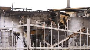 Berloz : incendie d'une blanchisserie industrielle