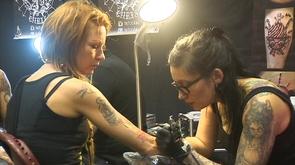 Liège : salon du tatouage