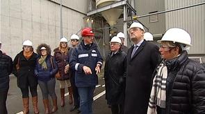 Biowanze : visite du ministre fédéral de l'agriculture