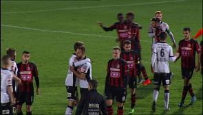 Football : Seraing - Roulers