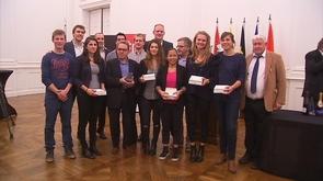 Liège honore ses champions et championnes de tennis