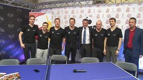 Tennis de table : soirée des légendes à Ans