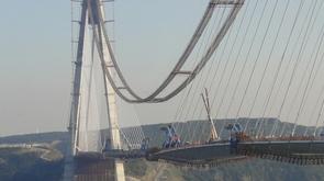 Bureau d'études Greisch : dernier élément posé pour le pont sur le Bosphore