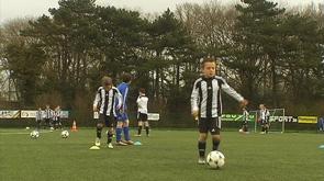 Stage de foot: la Juventus s'invite à Cointe