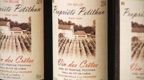 Le Vin des Crêtes, un Pinot Noir de Hamoir !