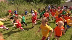 Les mini-Olympiades des maternelles se déroulaient à Trooz