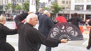 Premier village  Chinatown  à Liège