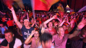 L'EURO 2016 à Liège : les images de RTC