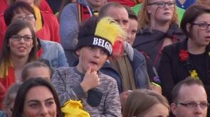 Huy : les supporters en souffrance pendant Pays de Galles - Belgique