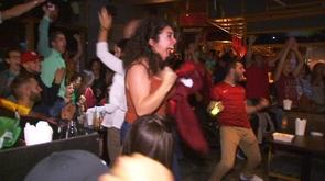 Poulseur : grosse ambiance pour soutenir le Portugal