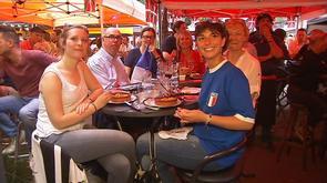 Liège : les supporters français ravis