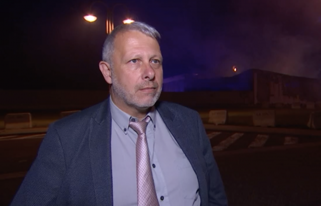 Incendie à Liège Airport : l'interview du bourgmestre ff