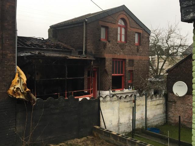 Incendie à Ougrée : deux morts et un blessé grave