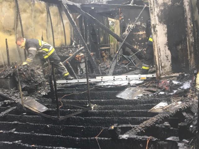 Incendie d'un local scout à Boncelles