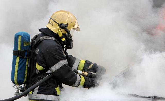 Incendie dans une entreprise de l'ile Monsin