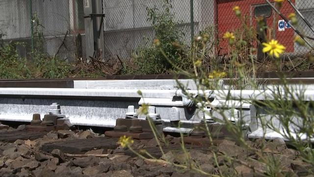 Infrabel peint les rails en blanc pour lutter contre la surchauffe