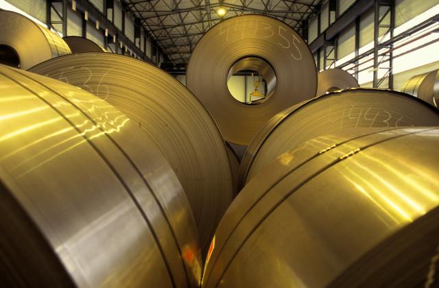 Ivoz-Ramet : un ouvrier coincé entre deux bobines d'acier !