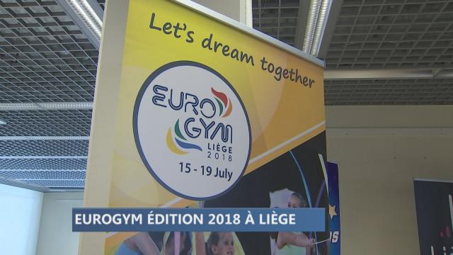 J-30 avant l'Eurogym 2018 à Liège