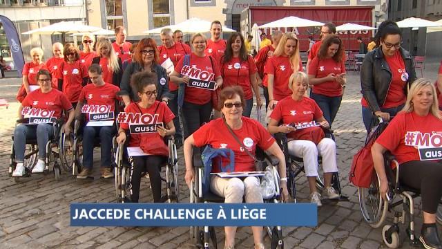 Jaccede Challenge à Liège.