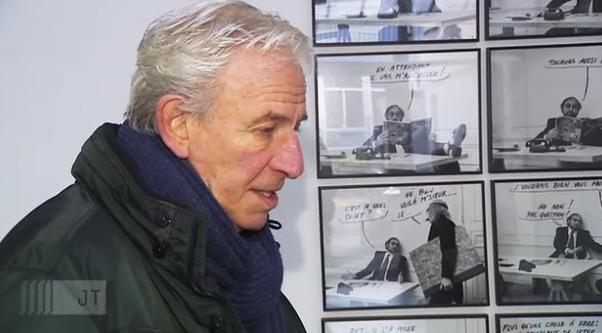 Jacques Charlier expose à Liège