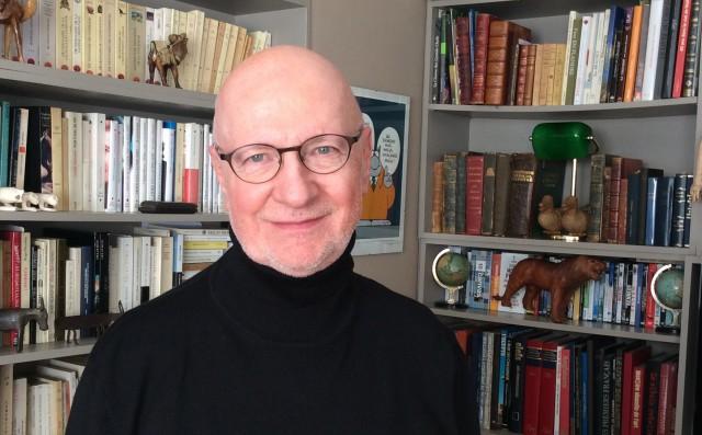 Jacques Mercier narrateur de Pierre et le loup avec l'OPRL