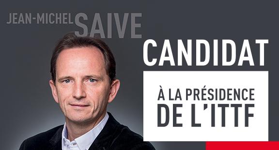 Jean-Michel Saive se lance dans la course à la présidence de l'ITTF