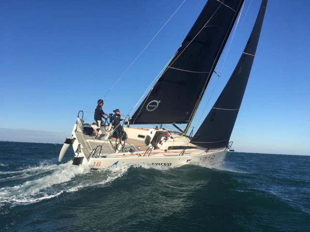 Jonas Gerckens et Sophie Faguet vice-champions d'Europe d'offshore