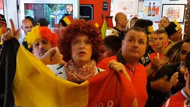 Josiane de Liège supporte aussi les Diables !