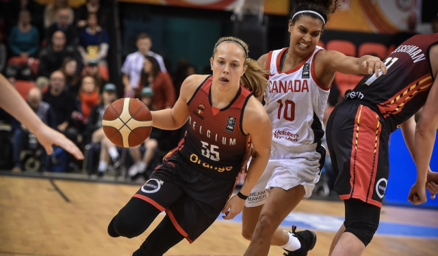 Julie Allemand officiellement en WNBA