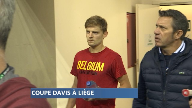 Julien Cagnina et David Goffin ensemble en Coupe Davis