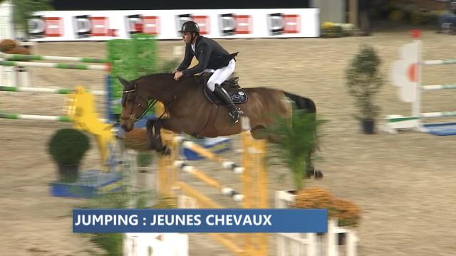 Jumping de Liège : la compétition des jeunes chevaux
