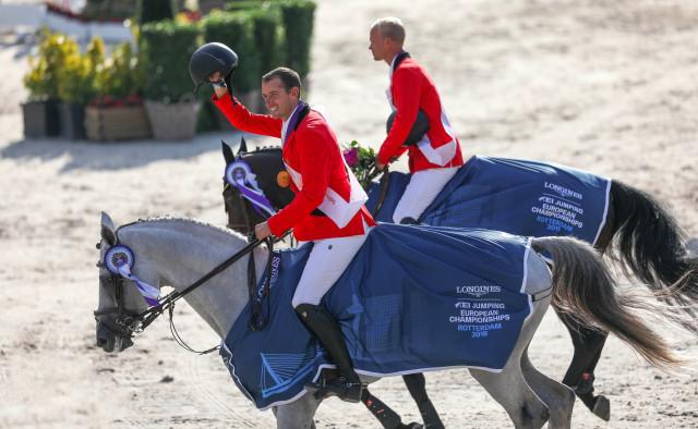 Jumping : l'or pour la Belgique aux championnats d'Europe de jumping grâce à un cavalier liégeois