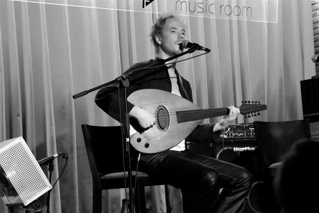 Kuzylarsen pour les 30 ans de l'atelier rock de Huy