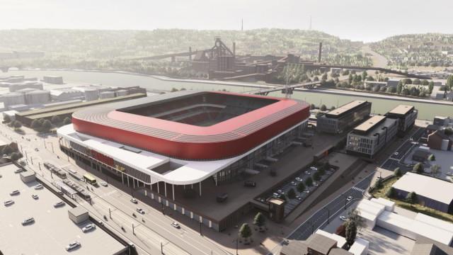 L'agrandissement du stade du Standard se rapproche...