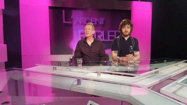 L'Ardent Parler : Alain Frey, Jean-Marc Ernes, David Schiepers et Luca Ruffini Ronzani