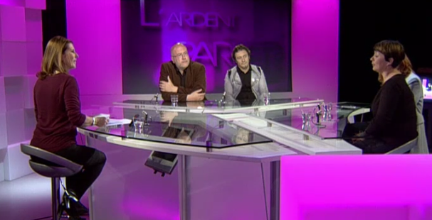 L'Ardent Parler : Isa Innocente, Géry Lippman, Frédéric Saenen...